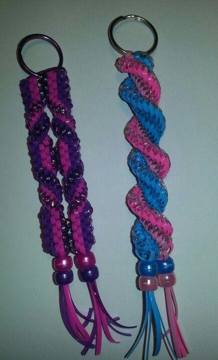 121 best plastic craft lace projects images on Pinterest | Scoubidou ...