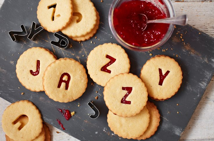 We don't need to spell it out for you – these alphabet biscuits are seriously tasty! Filled with raspberry jam and flavoured with vanilla, they are the perfect sweet treat for both adults and kids.