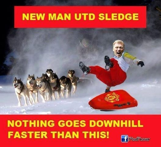The Man UTD Sledge