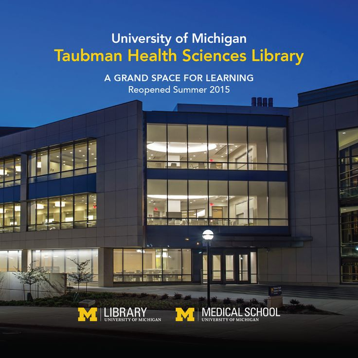 We're thrilled to re-open the Taubman Health Science library, a grand space for learning.