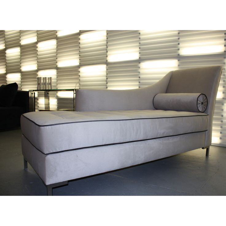 Decenni Custom Furniture 'Tobias' Dove Grey Chaise Lounge - Overstock™ Shopping - The Best Prices on Sofas & Loveseats
