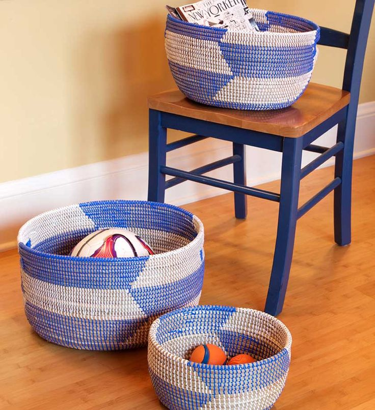 Handmade American Baskets : Images about home decor on orla kiely