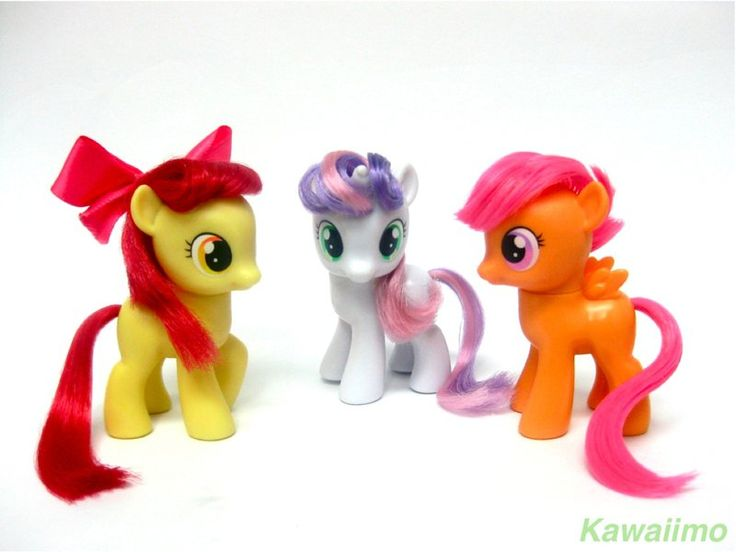 Toys For Ponies : The cutie mark crusaders mlp toys by kawaiimo on