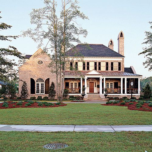 Top 12 best selling house plans southern living bricks for Southern charm house plans