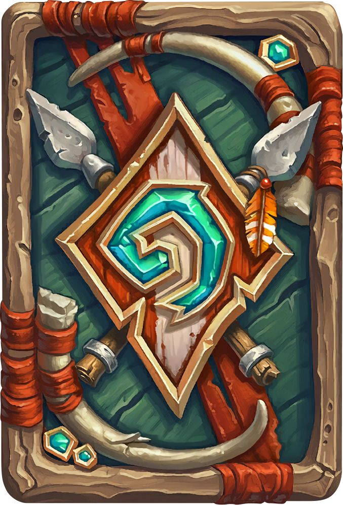 Card Back: Darkspear Artist: Jerry Mascho