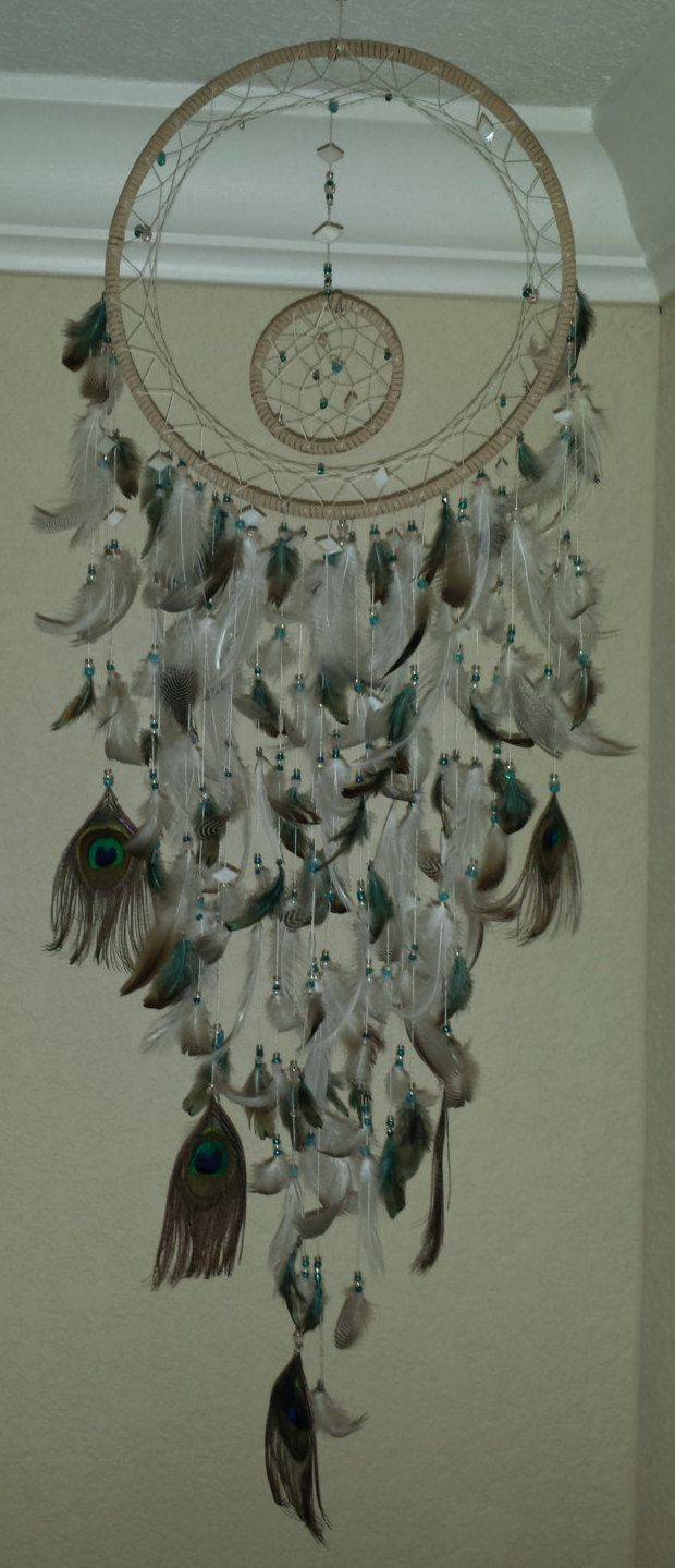25 best ideas about dream catcher rings on pinterest for How to make a double ring dreamcatcher