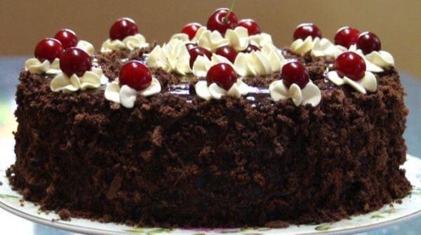 Божественный торт «Пьяная вишня в шоколаде»