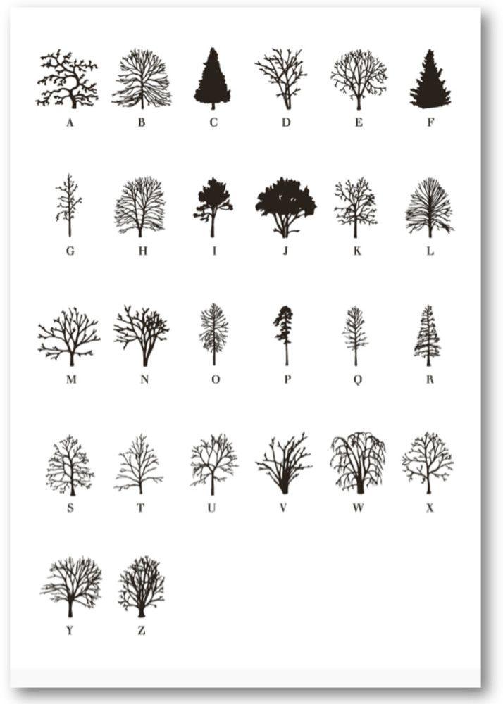 Communiquer avec la nature au coeur d une foret typographique