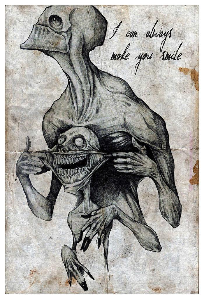 Devils Backbone Creepy Dark Scary Horror Original Art Artwork Poster Print 11x17