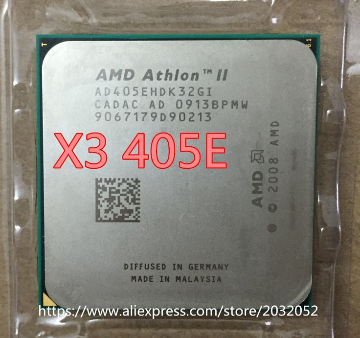 AMD Athlon II X3 405e Desktop CPU 2.3Ghz Socket AM3 938 Desktop CPU Processor X3 405E (working 100% Free Shipping) #CLICK! #clothing, #shoes, #jewelry, #women, #men, #hats