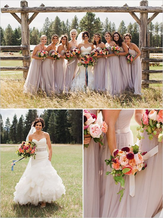 country wedding the wedding chicks mauve wedding fall wedding wedding