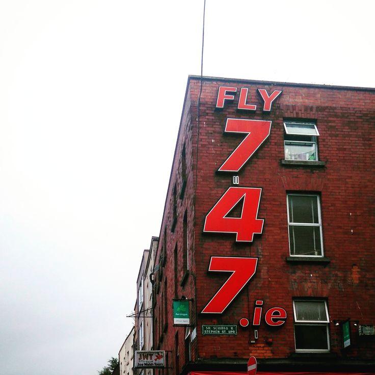 Fly 747, Dublin 2 | Dublin Ghost Signs