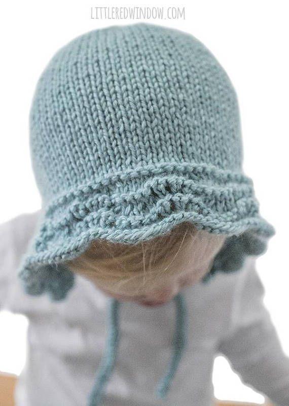 Vintage Baby Bonnet Pattern