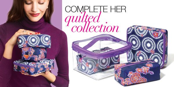 Cosmetic Bag set is available in C3! Order 4 cases for only $7.99* with every $10.00* purchase from select pages in the C3 Brochure, which just happens to be filled with fabulous makeup deals! call 204-4211687 to place your order