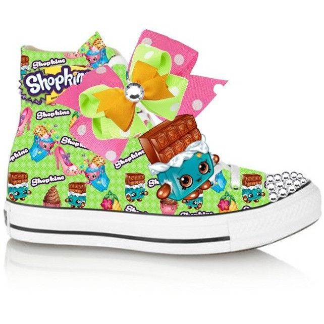 Green Limited Edition CHEEKY CHOCOLATE Shopkins Costume (CONVERSE)