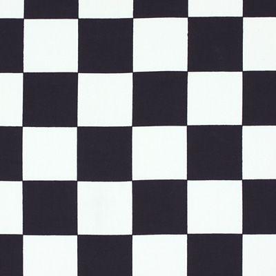 Cotton Checkers - Bawełna - czerń