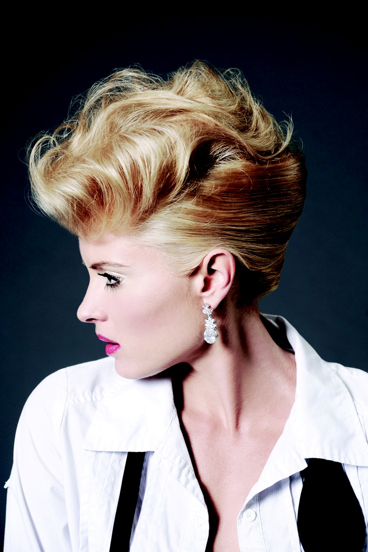 Sharon blain education hair up pinterest - Short Hairstyle From Modern Hair Beauty Magazine Photographer Ian Golding Www