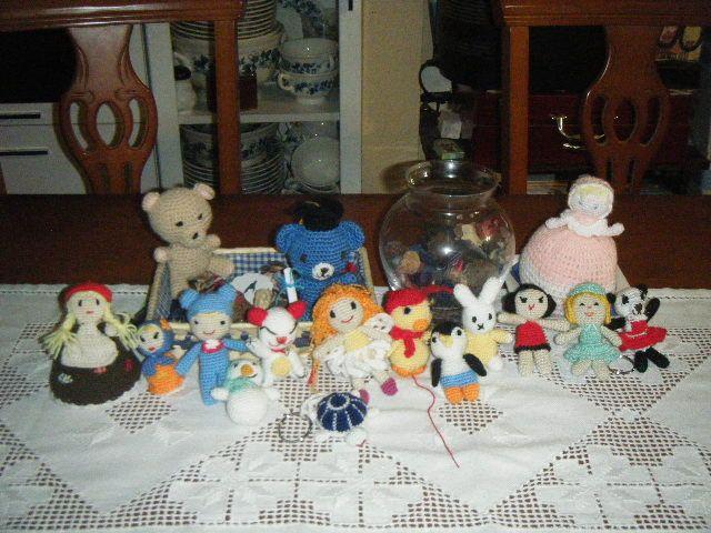 Muñecos de ganchillo