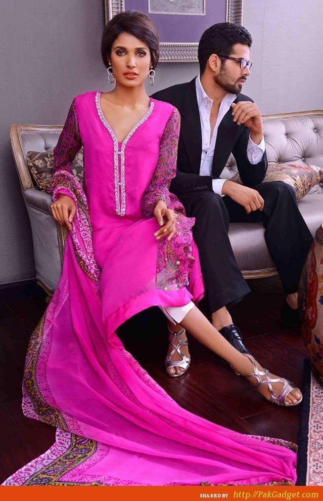 Pakistani Woman Fashion 100%!! #eiddresses #eiddresses2014 #eiddress #eidclothes #eidclothing #clothesforeid #dressesforeid #eidwear