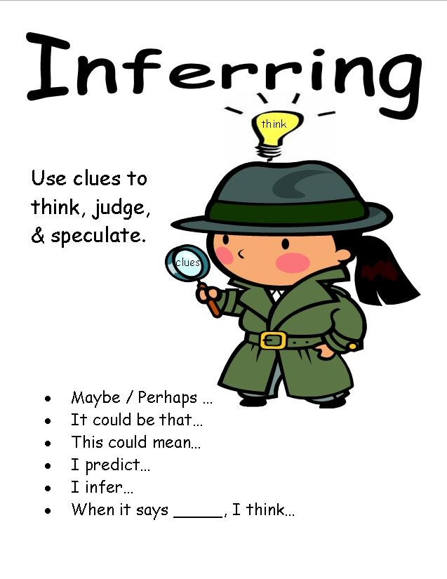 17 Best images about Reading: Inferring on Pinterest | Anchor ...