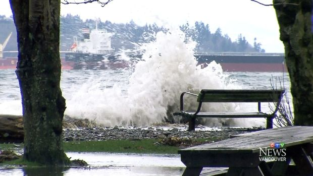 B.C. is preparing for the arrival of especially high and potentially damaging waves -- known as 'king tides' – as the month comes to a close.