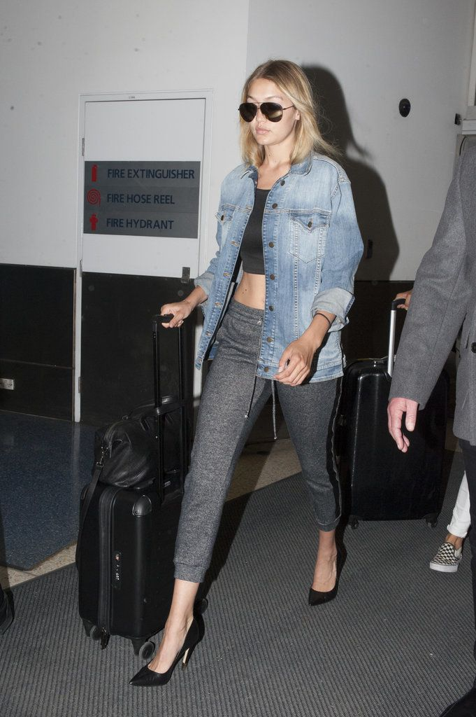 Only Gigi Hadid could make sweatpants look super sexy
