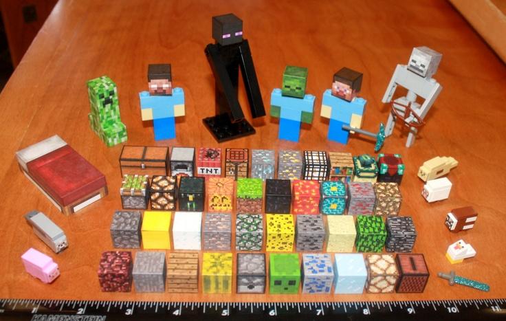 Custom Minecraft Lego.