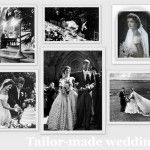 Raccontiamo la storia di Valentino attraverso i suoi abiti da sposa disegnati da questo grande couturier per tante celebrità e le spose delle case reali.