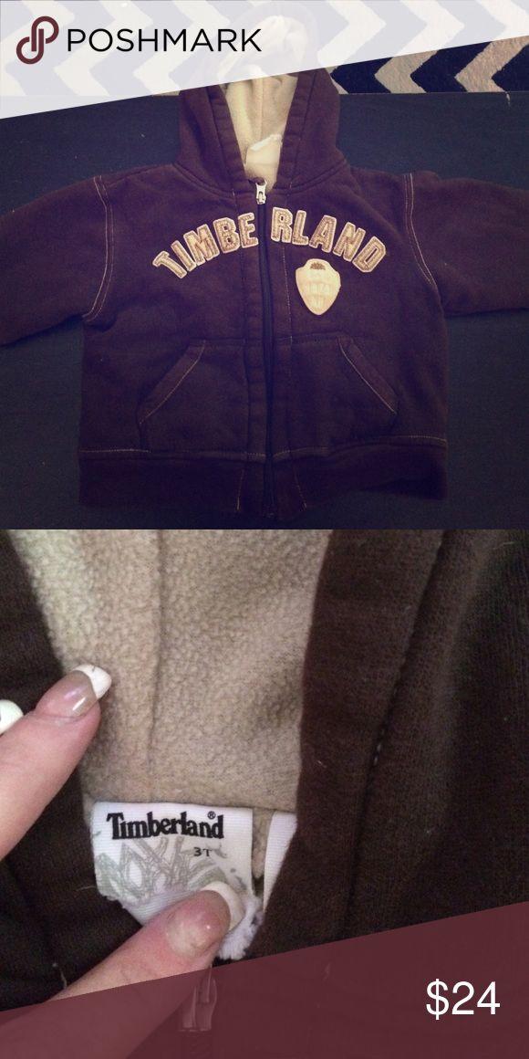 Toddler timberland hoodie Brown and beige hoodie unisex Timberland Shirts & Tops Sweatshirts & Hoodies