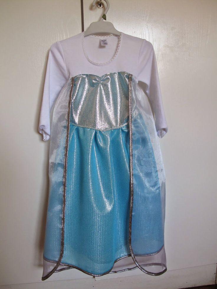El disfraz de Elsa que le he hecho a mi niña - Elsa (Frozen) costume for my daughter