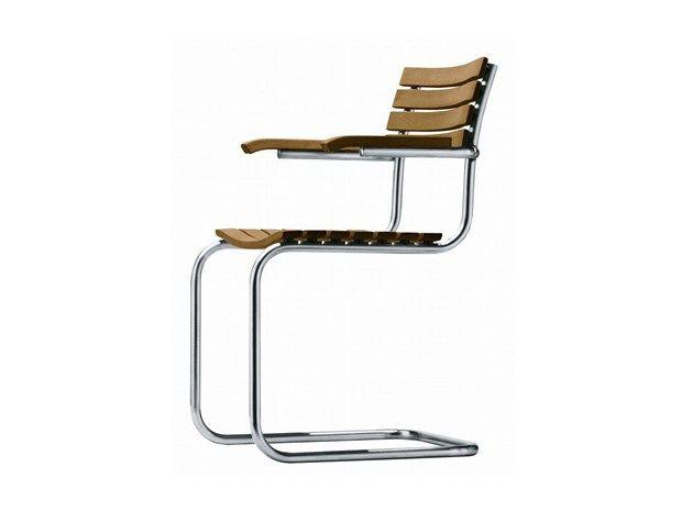 La sedia Thonet S 40 firmata Mart Stam compie 80 anni Grazie all'impegno di Thonet già dalla fine degli anni Venti, il tubolare d'acciaio si afferma come innovazione decisiva che acquista una popolarità sempre maggiore.  Molti dei mobili in tubolare d'acciaio prodotti da Thonet sono considerati tuttora pietre miliari nella storia del design.