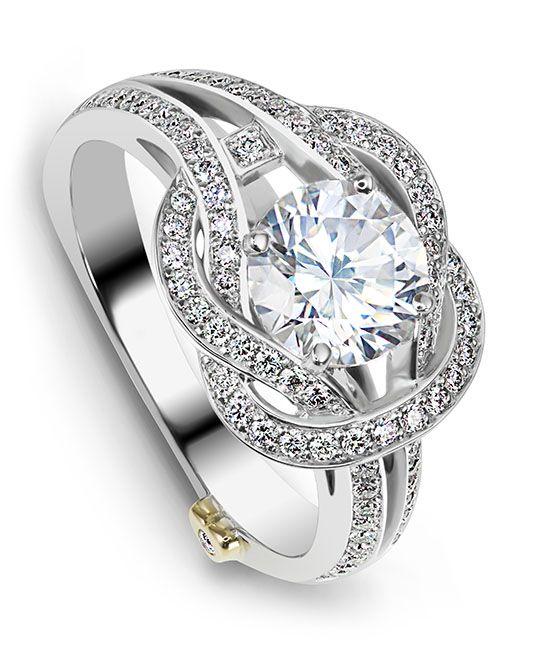 Royal Engagement Ring - Mark Schneider Design