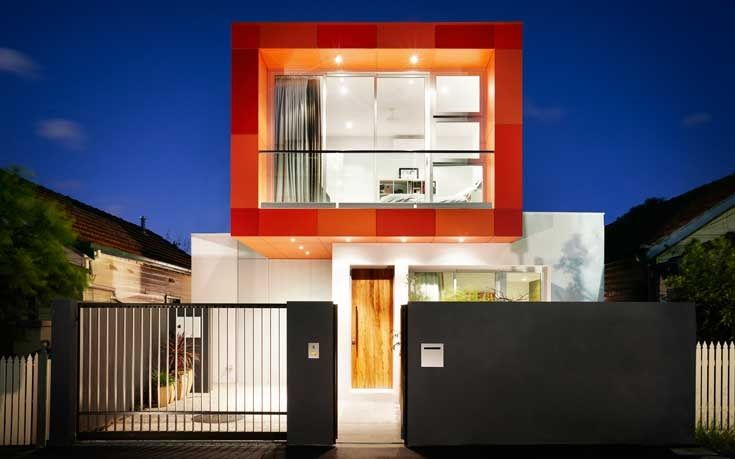 Striking Volume at the South Yarra House by LSA Architects
