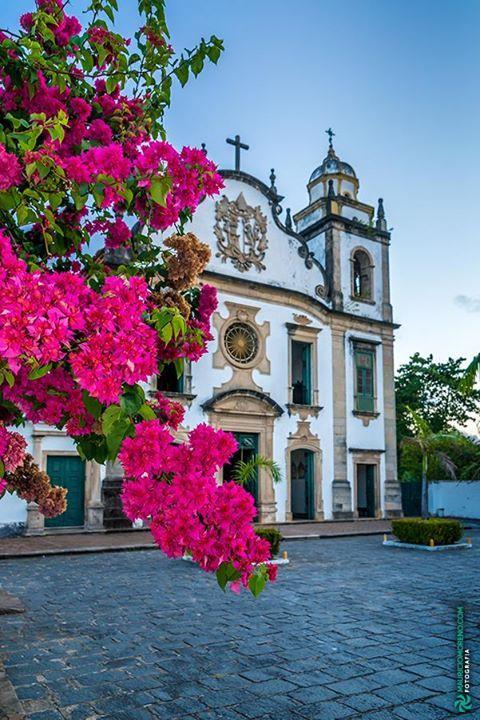 Mosteiro de São Bento Olinda - Pernambuco Brasil.  #olinda #pernambuco #fineart #art #photography #architecture #nature #mosteiro #saobento #monastery #church #religion #flower