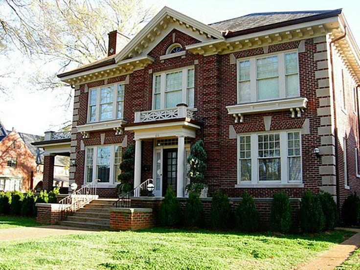 Colonial Revival 1870 1920 Historic Architecture In