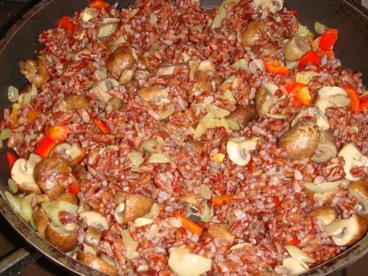 Ризотто из красного риса — Кулинарная книга - рецепты, фото, отзывы