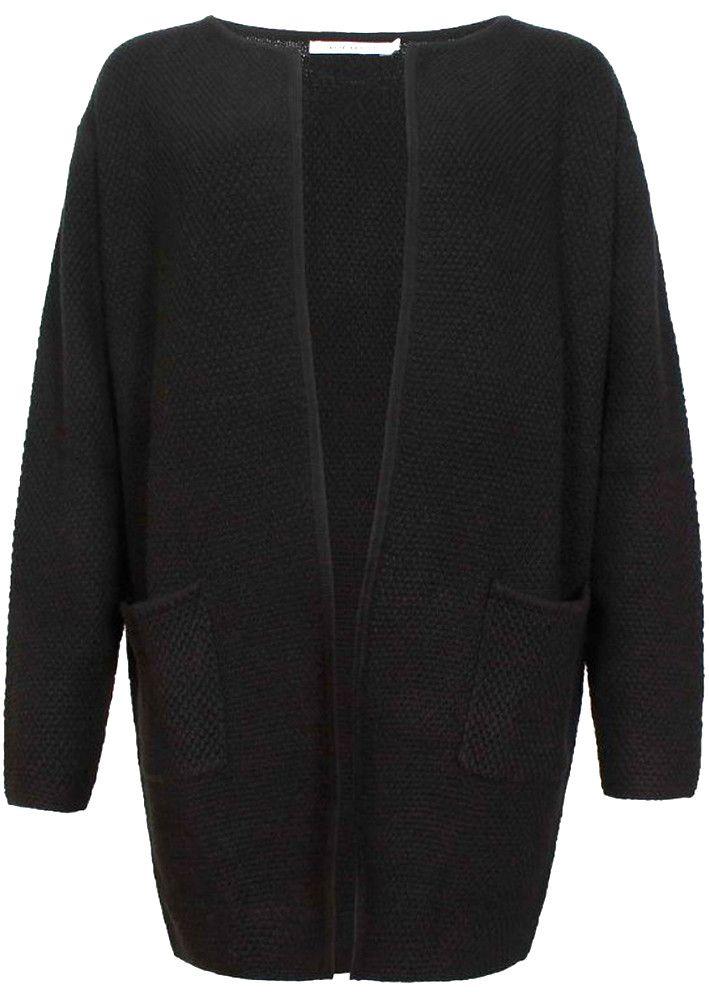 Copenhagen Luxe Cardigan sort 6348 Pearlknitted Cardigan black – Acorns