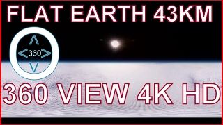 *ATTENTION* Tilt and turn your device while viewing this! A Fully immersive experience from over 43km high! Never Seen Before from a 360 Pan HD 4K perspective! View our PlaneT in stunning 4K 360 Panoramic View! Watch the *FULL* Version Here:  Please research: 1. Horizon always rises to eye...