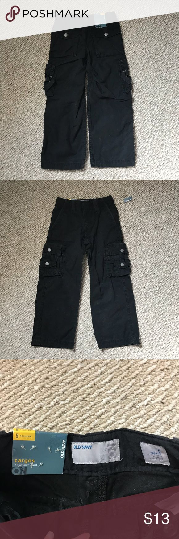 NWT 5T Old Navy cargo pants Brand new with the tag Cargo Pants Sz 5T It's perfect for winter  Has a lot Pocket Old Navy Bottoms Casual