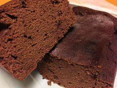 低糖質しっとりおからココアケーキの画像