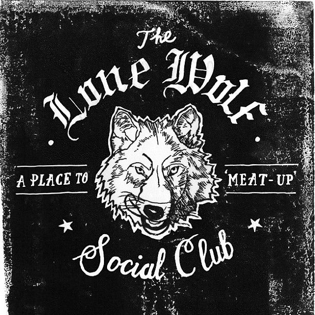 """""""The Lone Wolf Social Club"""" by Pez & Pencil"""