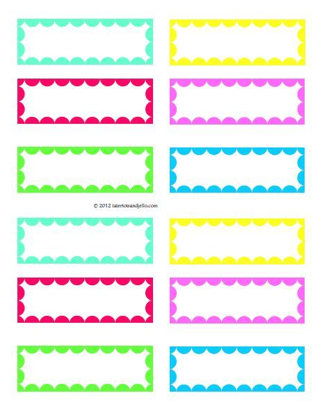 Ziploc Freezer Bag Labels - Free Printable!!