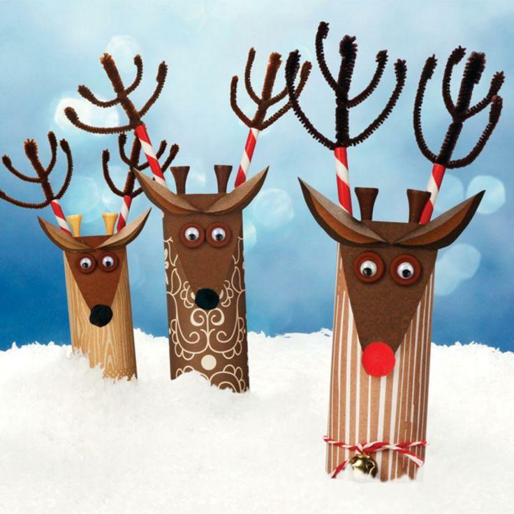 Manualidades para decorar el interior en Navidad