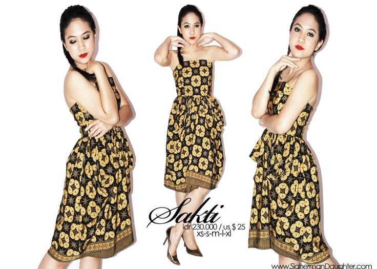 batik need to combine with kebaya