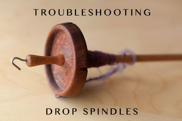 Drop spindles are a wonderful way to start handspinning! Check out these tips and frequently asked questions about spinning on a drop spindle.