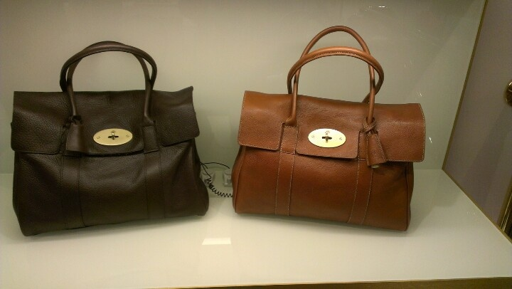 Gorgeous bags I can't afford. Seen in Liberty, London.