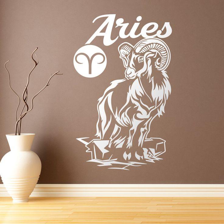 Vinilo decorativo con el signo del zodiaco Aries. Aries es el primer signo del zodíaco, el primero de naturaleza positiva, son Aries los nacidos entre el 21 de marzo al 20 de Abril. Simboliza el renacimiento. Representado con los cuernos de un carnero, pertenece junto a Leo y Sagitario al elemento fuego. Está regido por Marte. Su signo opuesto y complementario es Libra.  #aries #teleadhesivo #horoscopo #zodiaco #vinilosdecorativos