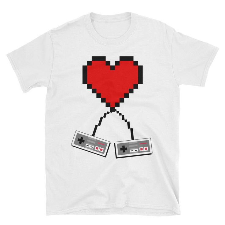 Excited to share the latest addition to my #etsy shop: Valentines Day Shirt - Retro Gamer Shirt - Pixel Heart Shirt - Gamer Shirt - Video Game Love - 8 Bit Shirt - Gamer Valentines Shirt - VDay