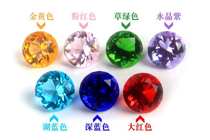 Бесплатная доставка искусственного хрусталя цветных драгоценных камней цветовое зрение День детские игрушки подарок на день рождения аквариум Алмазный Super Flash - глобальная станция Taobao