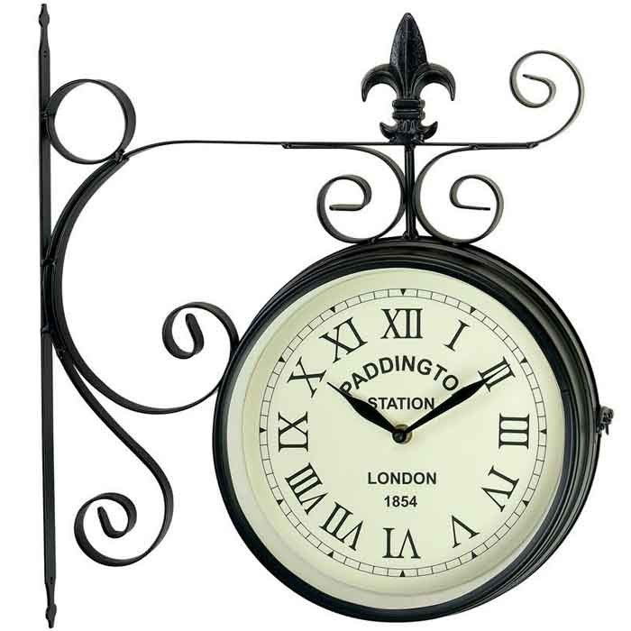 gardman paddington station wall clock at charlies direct quality products famous brands u0026 competitive prices